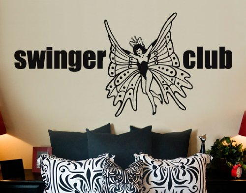 WandTattoo No.SF331 Swinger Club